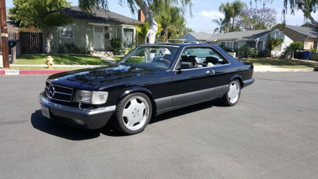 1991 mercedes 560 sec for sale photos technical specifications description. Black Bedroom Furniture Sets. Home Design Ideas