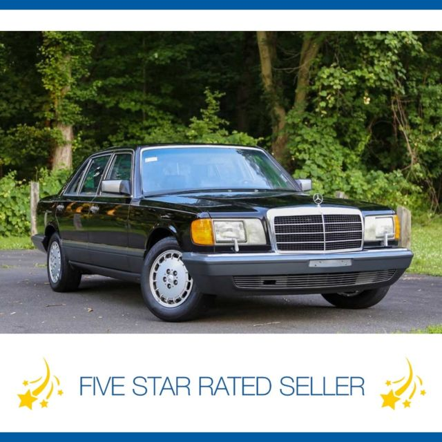 1991 Mercedes-Benz S-Class 560 SEL 93K Mi Florida Car Collectible CARFAX