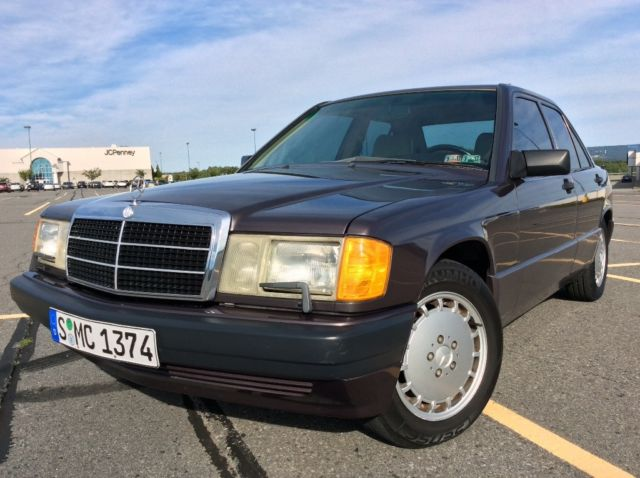 1991 Mercedes-Benz 190-Series