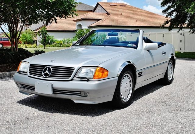 1991 Mercedes-Benz SL-Class 300SL Convertible Low Miles Clean Carfax