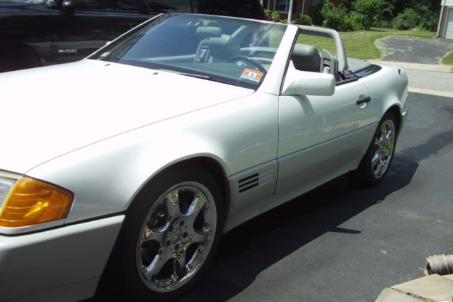 1991 mercedes benz 300sl convertible with hardtop for sale for Mercedes benz hardtop convertible for sale
