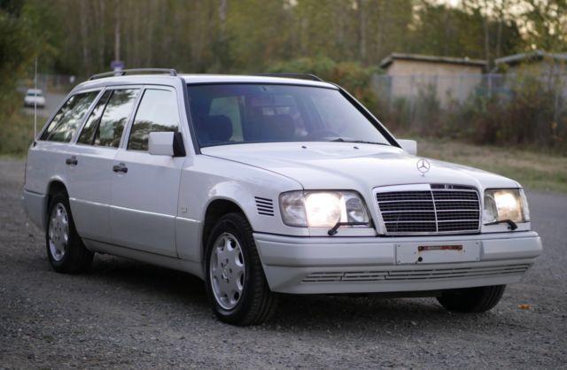 1991 Mercedes Benz 300TD / Euro Spec turbo-diesel wagon