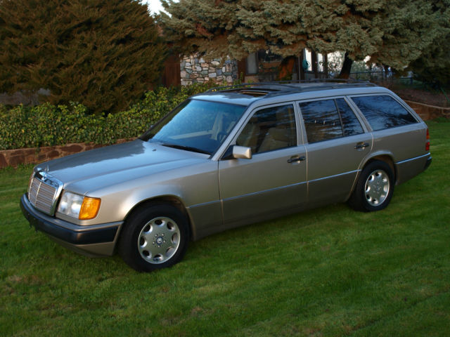 1991 Mercedes Benz 300te 4matic Wagon CA Car Dealer Maintained Garaged Low Miles
