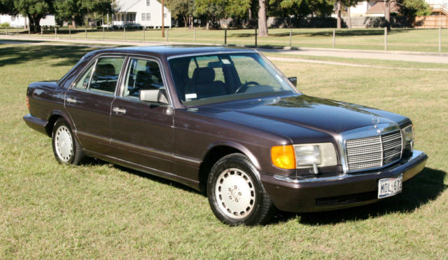 1991 mercedes benz 350sd w126 diesel s class for sale for Mercedes benz diesel cars for sale
