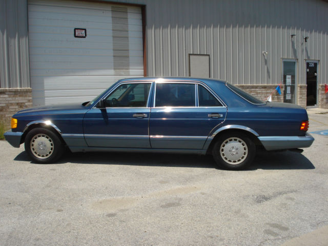 1991 Mercedes-Benz 400-Series SEL