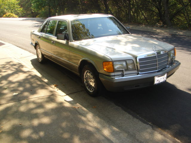 1991 Mercedes-Benz 500-Series