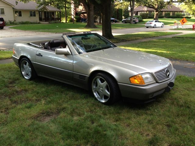 1991 Mercedes-Benz SL-Class Mercedes-Benz 1991 SL 500 Roadster convertible