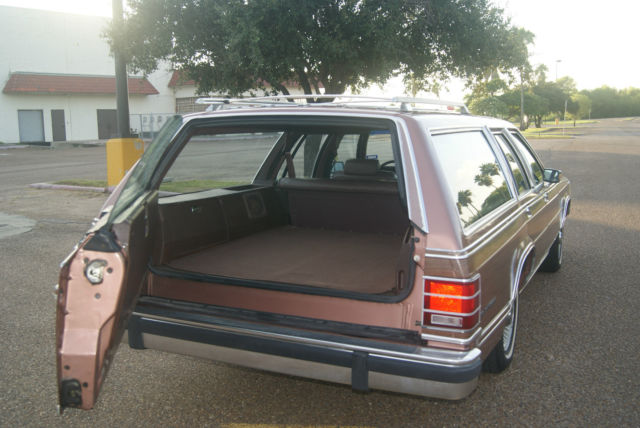 1991 Mercury GRAN MARQUIS COLONY PARK GS WAGON 4 DOOR