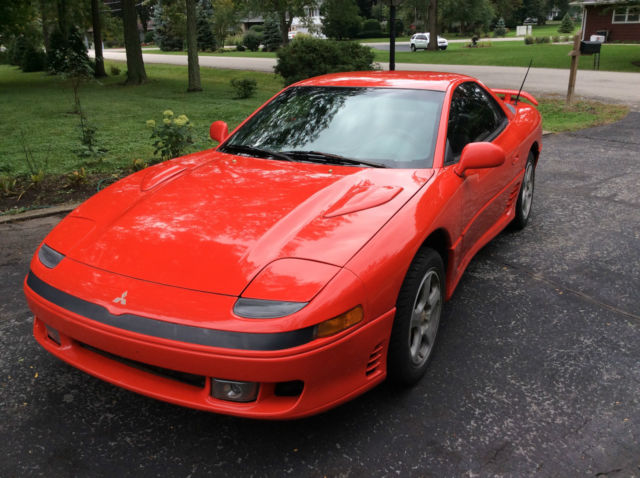 1991 mitsubishi 3000gt vr4 vr 4 twin turbo all wheel drive like dodge stealth for sale photos. Black Bedroom Furniture Sets. Home Design Ideas