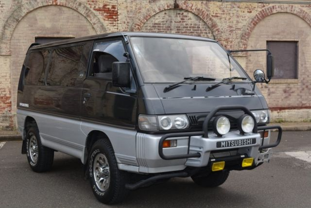 1991 mitsubishi delica 4x4 exceed 5 speed syncro quigley camper turbo diesel for sale photos. Black Bedroom Furniture Sets. Home Design Ideas