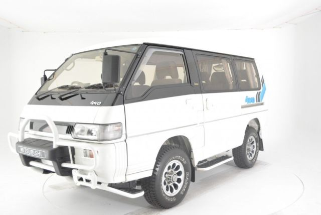 1991 White Mitsubishi Other Exceed Minivan, Van with Other interior