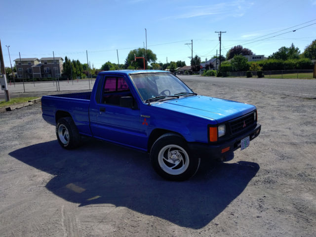 1991 Mitsubishi Mighty Max Diesel Pickup Truck For Sale