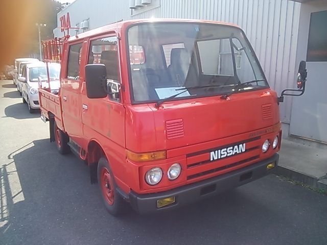 1991 Nissan Other Pickups fire car