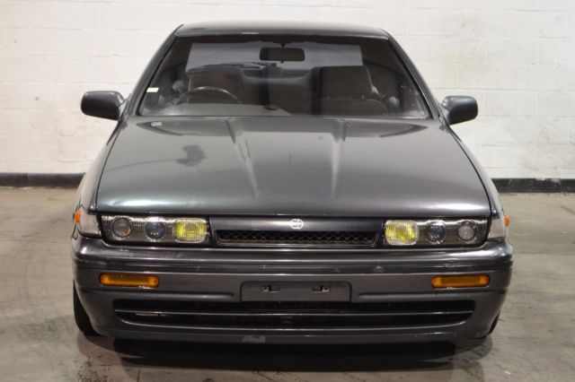 1991 Grey Nissan 240SX 4D with Grey interior