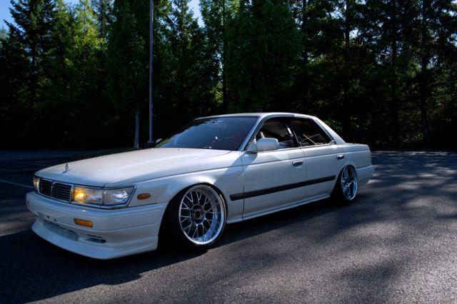 1991 Nissan Laurel - SR20 | Blitz 03 | PBM Angle Kit | Much