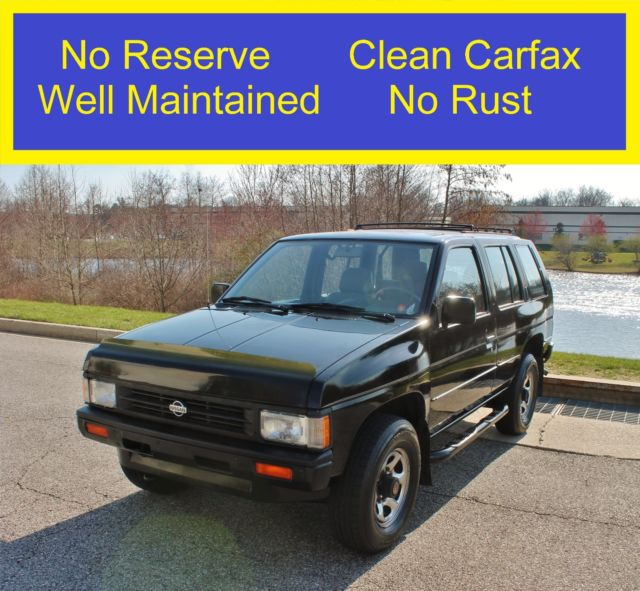 1991 Nissan Pathfinder No Reserve Clean Carfax No Rust V6