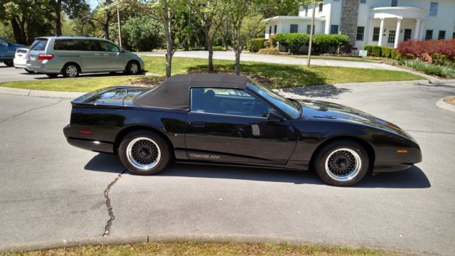 1991 pontiac firebird trans am convertible mint ws6 only. Black Bedroom Furniture Sets. Home Design Ideas