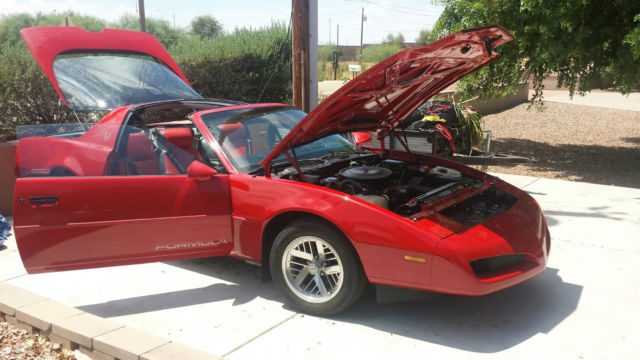 1991 pontiac formula firebird for sale for sale photos. Black Bedroom Furniture Sets. Home Design Ideas