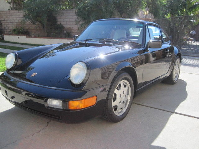 1991 Porsche 911 2 Door Coupe with Sunroof