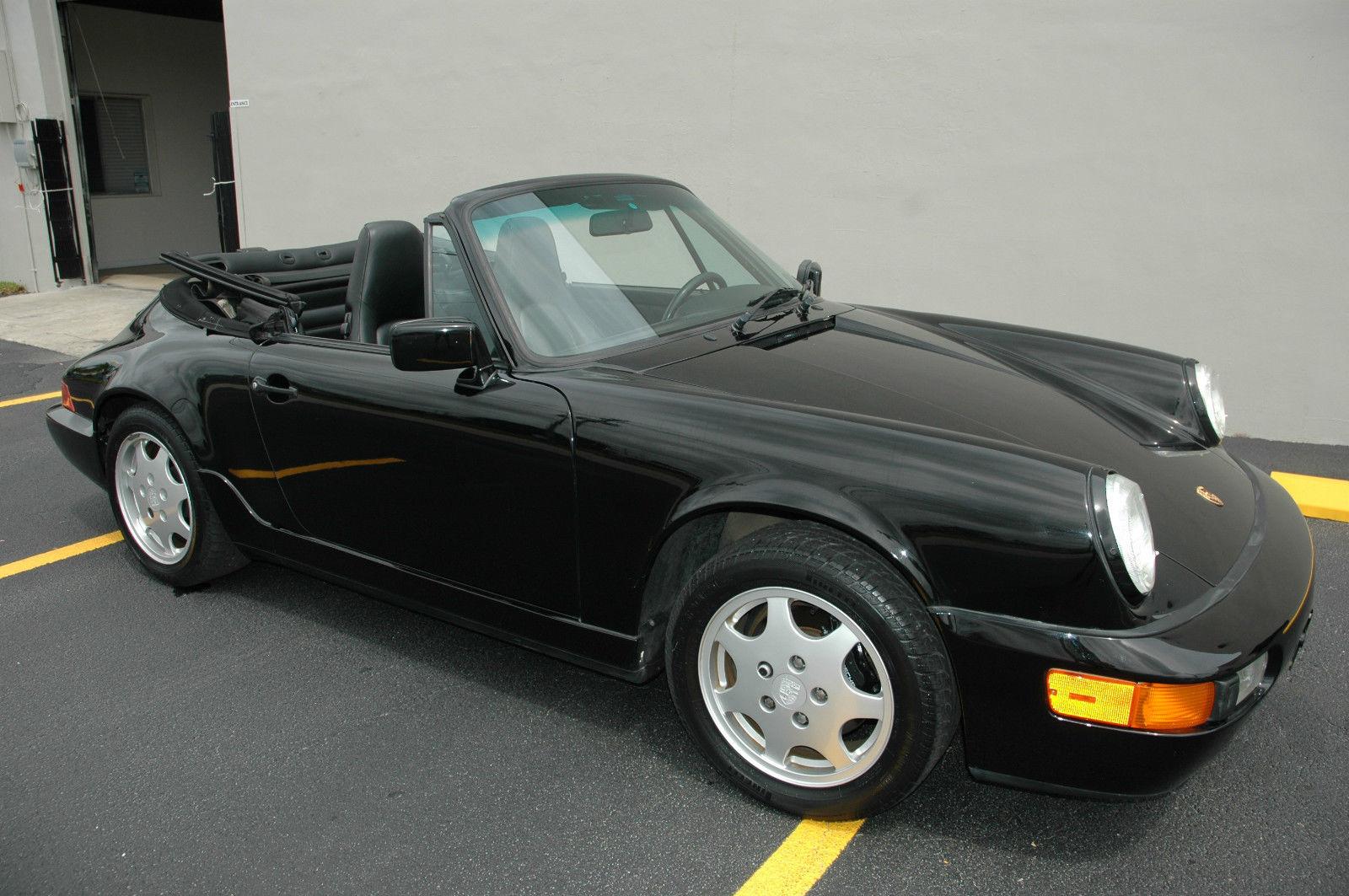 1991 porsche 911 carrera 4 convertible 2 door 3 6l for sale photos technical specifications. Black Bedroom Furniture Sets. Home Design Ideas