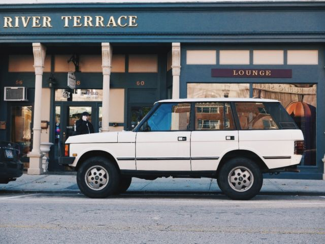 1991 Land Rover Range Rover Range Rover Classic