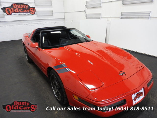 1991 Chevrolet Corvette Runs Drives Body Int Vgood 5.7LV8 6spd