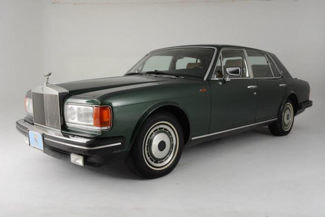 1991 -- Rolls-Royce Silver Spirit/Spur/Dawn Sedan with -- interior