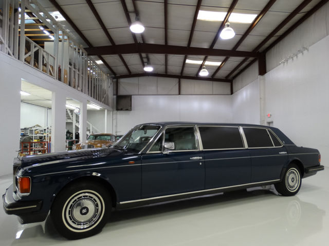 1991 Rolls-Royce Silver Shadow 2 Limousine, ONLY 34,684 CAREFULLY-DRIVEN MILES!