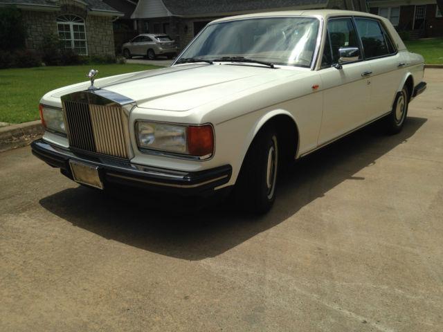 1991 Rolls Royce Silver Spur Ll