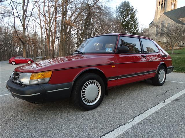 rust auto paint 1991 saab 900 base classic auto low miles clean no rust good paint