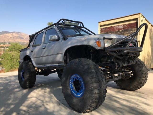 toyota runner  cam engine swap rock crawler
