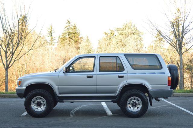 1991 toyota pickup 4x4 v6 specs