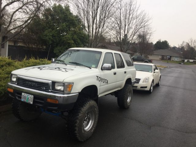 1991 toyota 4runner sr5 sport utility 4 door 3 0l lifted for sale photos technical. Black Bedroom Furniture Sets. Home Design Ideas