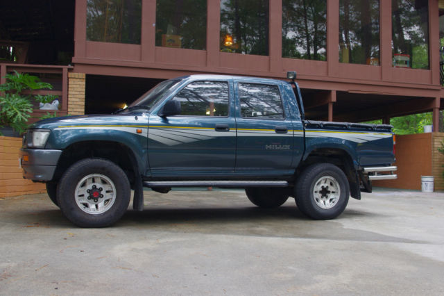 1991 Toyota Hilux Landcruiser Double Cab Diesel Truck For Sale
