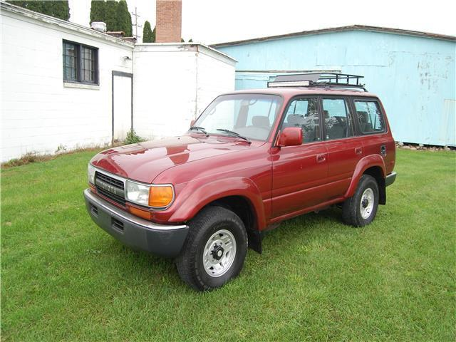 1991 Toyota Land Cruiser Base Sport Utility 4-Door