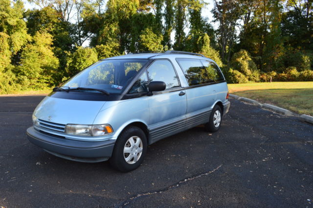 1991 Toyota Previa 1 Owner For Sale Photos Technical
