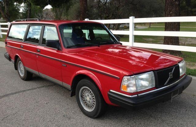 1991 Volvo 240 wagon   CLASSIC CARS TODAY ONLINE   1991 Volvo 240 Wagon
