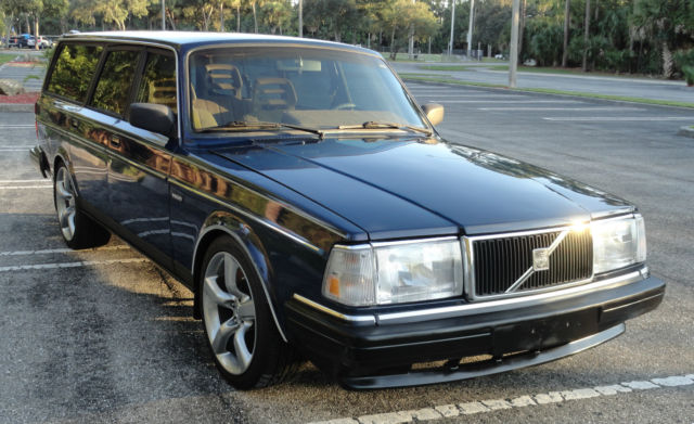 1991 volvo 240 station estate wagon sharp nice shape 2 3l for sale photos technical. Black Bedroom Furniture Sets. Home Design Ideas