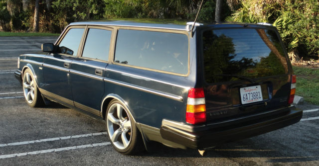 "1991 Volvo 240 Station ""Estate"" Wagon, Sharp, nice shape 2.3L for sale: photos, technical ..."