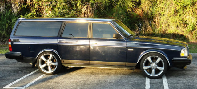 1991 volvo 240 station estate wagon sharp nice shape 2 3l for sale photos technical. Black Bedroom Furniture Sets. Home Design Ideas