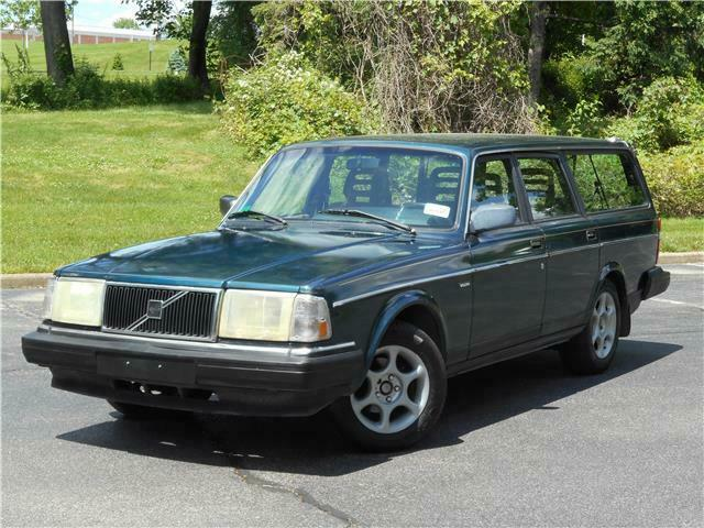 1991 Volvo 240 WAGON 3RD ROW NON-SMOKER CLEAN CARFAX MUST SELL!
