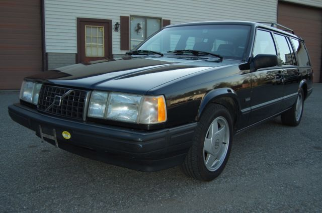 1991 Volvo 940 Turbo Wagon Black Same Owner Since 1992