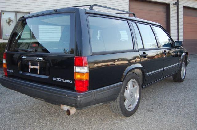 1991 Volvo 940 Turbo Wagon Black/Black Same owner since 1992