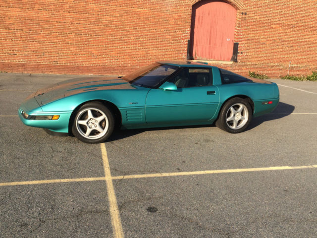 1991 ZR-1 Rare Turquoise Metallic/Black 29K miles  Owned 10