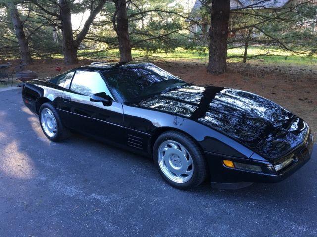1991 ZR1 Corvette / No Reserve / Black / Factory Stock / LT5