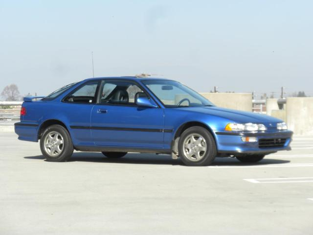 1992 Acura Integra GS Captiva Blue Low Miles 73k 1 Owner W Leather