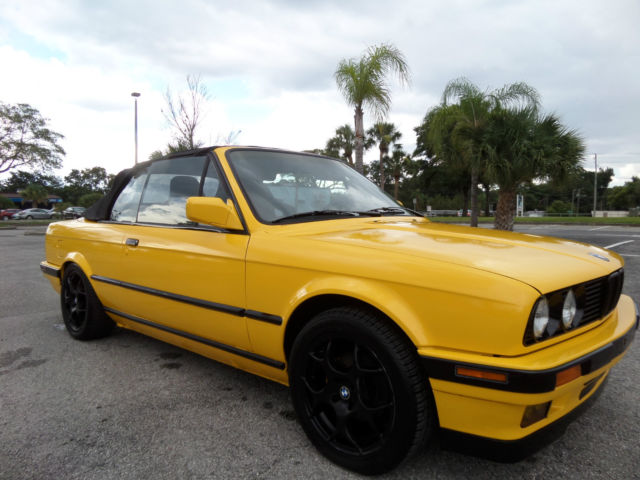 1992 Bmw 318i Convertible 1 8l E30 For Sale Photos