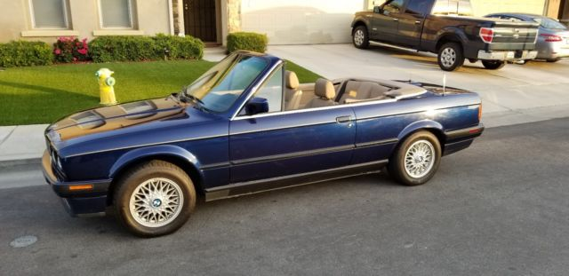 1992 Bmw 325i Convertible With Hardtop Automatic Southern California Car