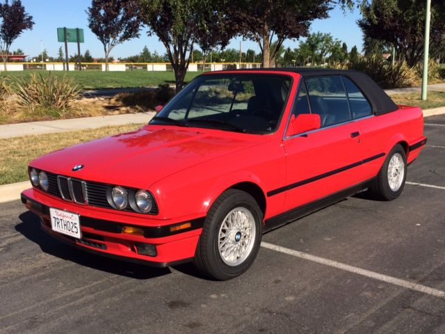 1992 BMW 3-Series 325I Convertible