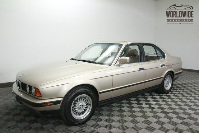 1992 BMW 5-Series RARE 5 SPD. ONE OWNER.PERFECT!